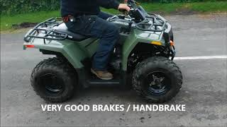 7. POLARIS SAWTOOTH 200cc QUAD JUST 172 MILES FROM NEW SOLD BY www.catlowdycarriages.com