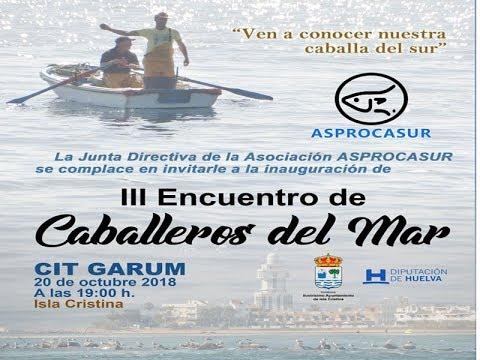 """Actividades Educativas del """"III Encuentro Caballeros del Mar de Isla Cristina"""""""