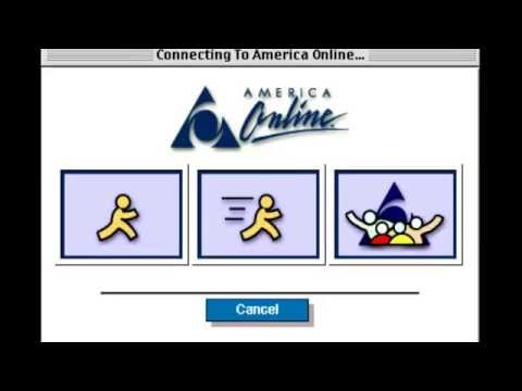 AOL Dial Up Internet Connection Sound + You've Got Mail (America Online) 90's