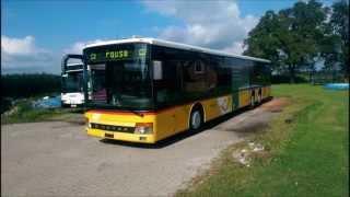 Setra 319 NF ex Postbus Schweiz (24) ZF 5 HP 600 Sound Mitfahrt