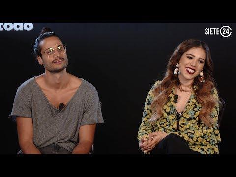 Danna Paola se divirtió en su debut en cine