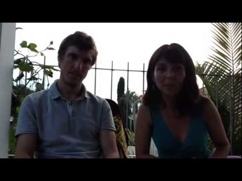 John and Maria loved their time at non-profit Sustainable Bolivia