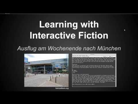 Can we use Interactive Fiction in the Classroom? (1 of 2)