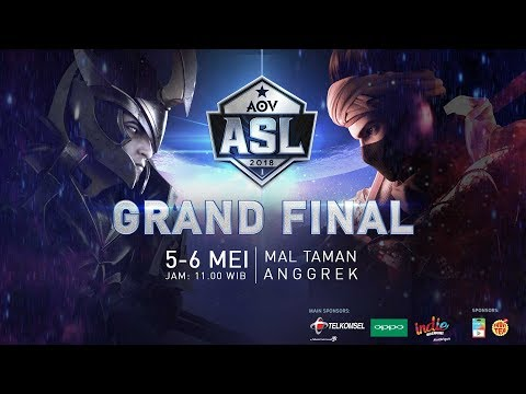 ASL Grand Final #RoadtoLA - Garena AOV