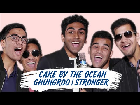 Cake by the Ocean / Ghungroo / Stronger - Cover by Penn Masala (DNCE   Arijit Singh   Kanye)