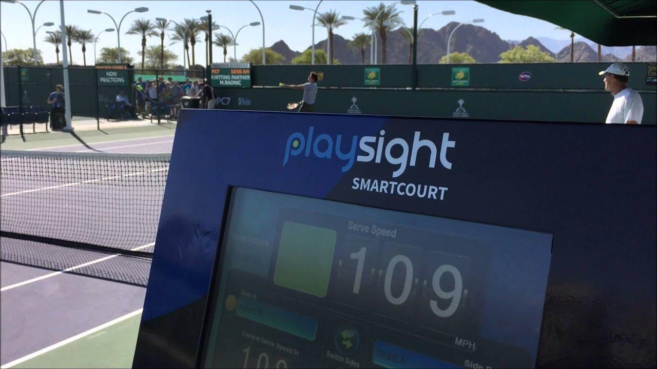 PlaySight at the 2016 BNP Paribas Open