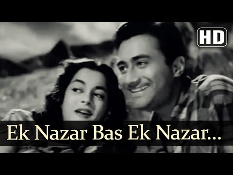 Video Ek Nazar Bas Ek Nazar | Munimji Songs | Dev Anand | Nalini Jaywant | Lata Mangeshkar | Filmigaane download in MP3, 3GP, MP4, WEBM, AVI, FLV January 2017