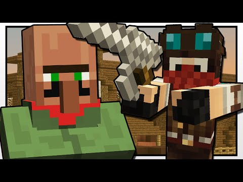 Minecraft   THE WILD WILD WEST!!   Custom Mod Adventure
