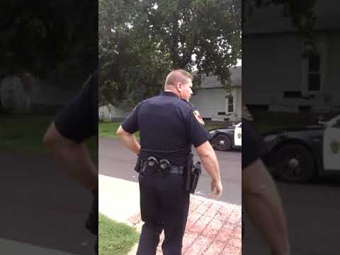 SPD Springfield Missouri Cop who gets served..