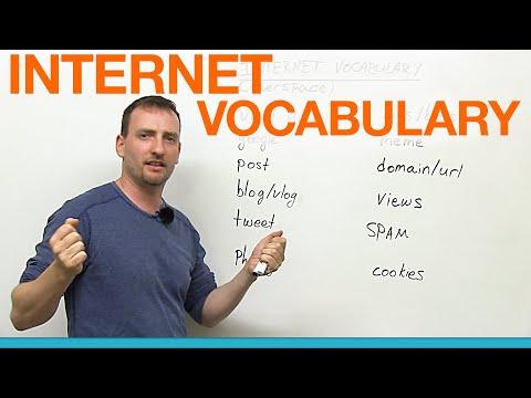 (videó) Angol szókincs középfok - 12 gyakori internet szleng szó/kifejezés