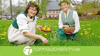 Wildkräuter auf der Mühlenwiese in Dörnthal