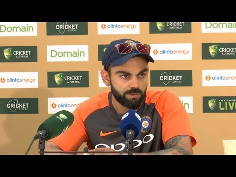 I'm grateful to captain a pace-attack which is at the peak of its powers - Virat Kohli