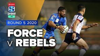 Force v Rebels Rd.5 2020 Super rugby AU video highlights | Super Rugby AU Video Highlights