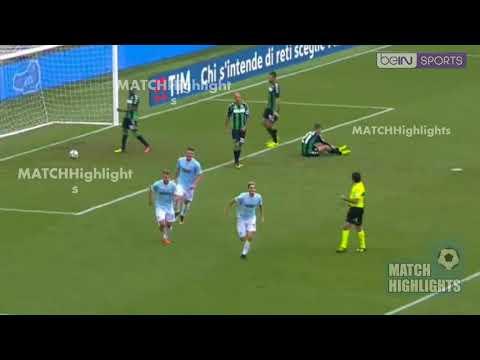 Lazio-Sassuolo 6-1 | Highlights & All Goals | Serie A 01/10/2017
