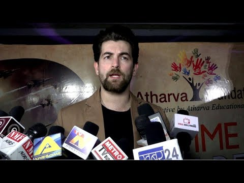 Neil Nitin Mukesh At Atharva Foundation To Salute And Tribute To Indian Armed Forces