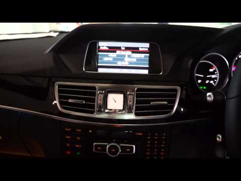 Mercedes-benz 2014 E-Class video interface