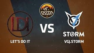 Let's Do It против VGJ.Storm, Вторая карта, DOTA Summit 9 LAN-Final