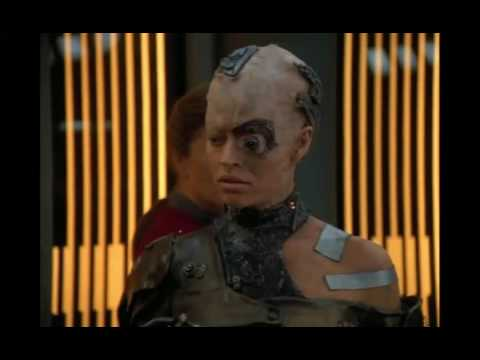 Seven of Nine does not like being disconnected from the Borg