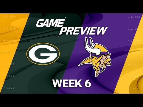 Video: Green Bay Packers vs. Minnesota Vikings | Week 6 Game Preview | Move the Sticks