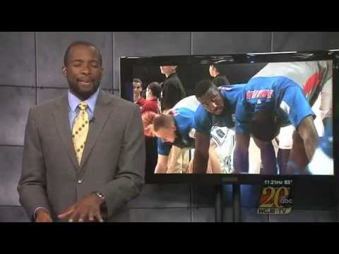 TV Station Recreates Sports Highlights...
