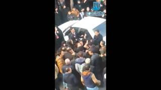 مراسم تشیع پیکر پیمان مروتی فعال دانشجویی که به ضرب گلوله افراد ناشناس کشته شد