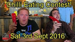 Upton Cheyney Chilli Eating Contest - Sat 3rd Sept 2016