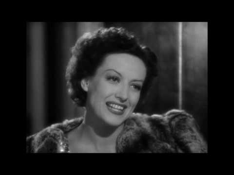 """Joan Crawford Classy Exit Scene from """"The Women"""""""