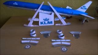 Video KLM B777-300ER Papercraft MP3, 3GP, MP4, WEBM, AVI, FLV Juni 2018