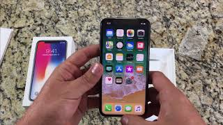 iPhone X unboxing, setup, and comparison to iPhone 8