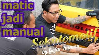 Video #SEKUTOMOTIF PERKEMBANGAN SWAP ENGINE RAHAYU VW GOLF MK 1 MP3, 3GP, MP4, WEBM, AVI, FLV Oktober 2018