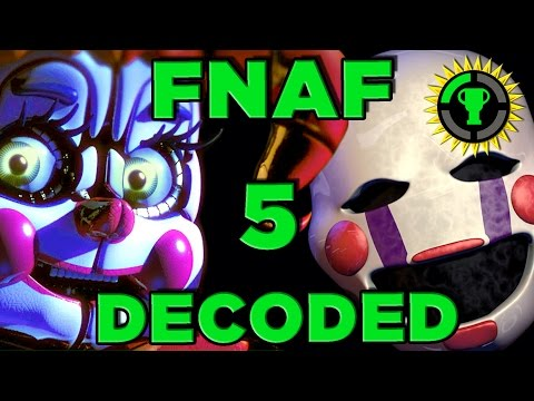 Game Theory: FNAF Sister Location DECODED! (FNAF 5)
