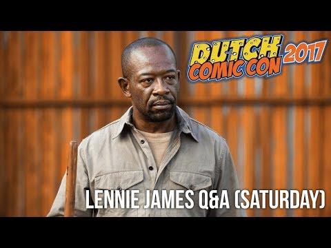 Lennie James Q&A Dutch Comic Con 2017