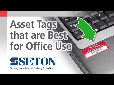 Which Asset Tag is Best for Office Use? | Seton Video