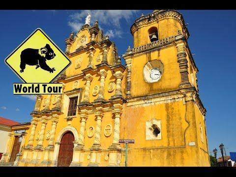 Voyage au Nicaragua, Leon, Hervideros a San Jacinto (Travel Nicaragua) (around the world) video