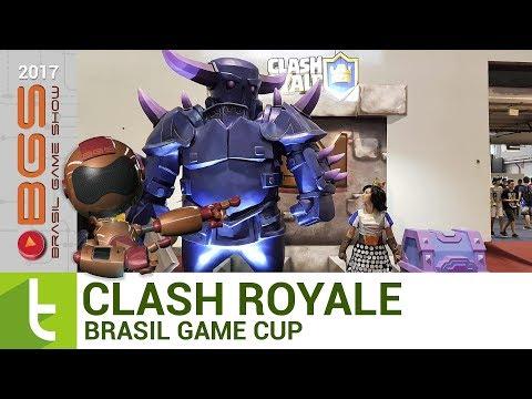 BGS 2017: Clash Royale na Brasil Game Cup  TudoCelular.com