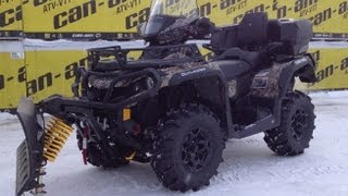 8. 2013 Can-am 650 max Plow King