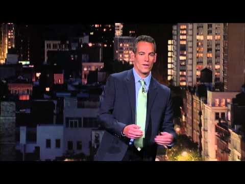 Comedian Moody McCarthy On Late Show with David Letterman
