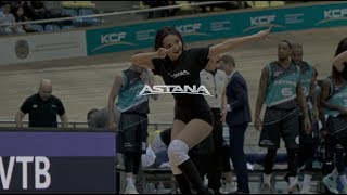Лучшие моменты матча Единая лига ВТБ: «Астана»— «Калев»