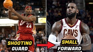 Video 10 NBA Players Who Switched Positions In Their Career (LeBron, Durant, Jordan) MP3, 3GP, MP4, WEBM, AVI, FLV November 2018
