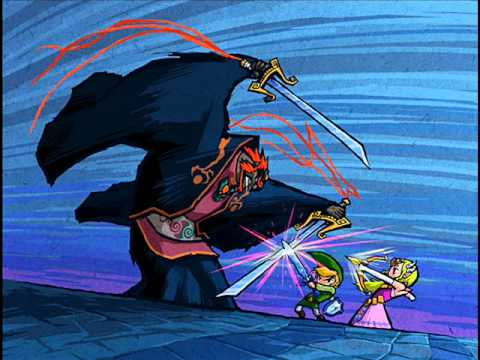The Legend of Zelda The Wind Waker - Ganondorf Battle