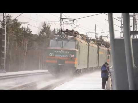 Сплотка электровозов ВЛ11-330/329, ВЛ11-284/296 (видео)