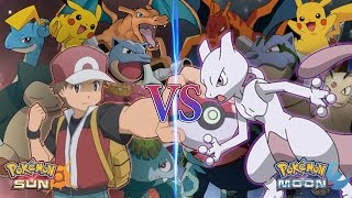 Nonton Pokemon Sun and Moon: Legend Red Vs Mewtwo (Mewtwo Returns) Film Subtitle Indonesia Streaming Movie Download