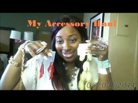 My Accessory Haul Earrings, Necklaces, Bracelets, Ring