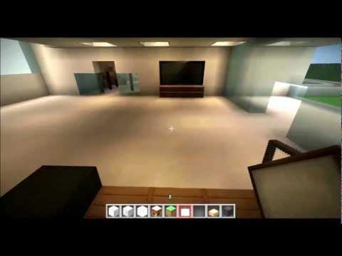 Minecraft Haus einrichten #2 - Möbel, Küche, Bett... - Tutorial ...