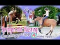 Lia n Alfi - Springen mit Halsring - App-Tipp * Amino Apps * [ neckrope riding ]