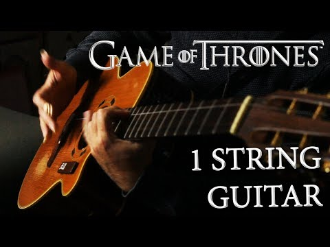 Game Of Thrones Cover | ONE STRING guitar! - Thời lượng: 110 giây.