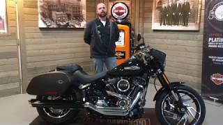 7. 2018 Harley-Davidson Softail Sport Glide FLSB