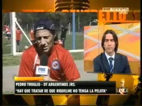 Troglio habla sobre Riquelme