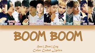 Download Lagu SEVENTEEN - BOOM BOOM (붐붐) [HAN ROM ENG Color Coded Lyrics] Mp3