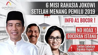 Video GAWAT!! MISI RAHASIA Jokowi Bocor! Nasib Indonesia 2019-2024 MP3, 3GP, MP4, WEBM, AVI, FLV Juni 2019